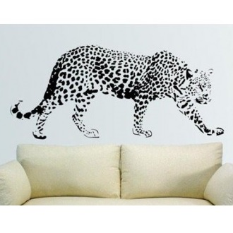 Leopard wallsticker