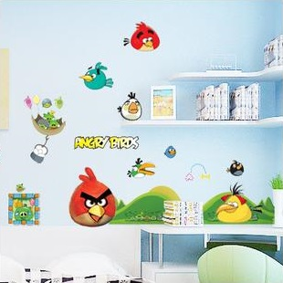 Angry Birds wallsticker