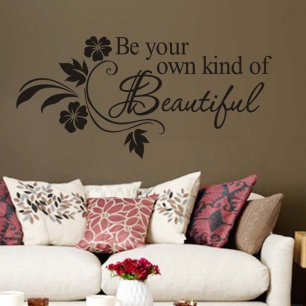 be your own kind of beatiful - WorldOfStickers.dk