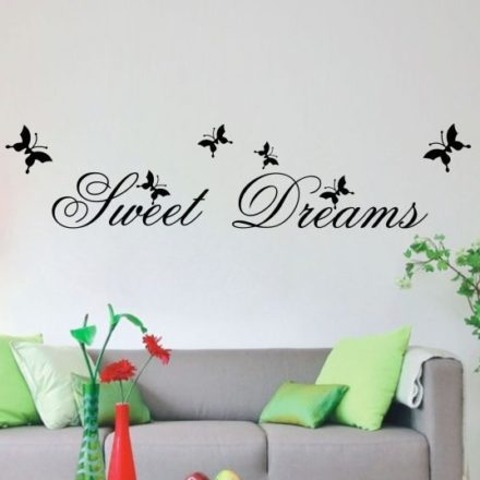 sweet-dreams-wallsticker- WorldOfStickers.dk
